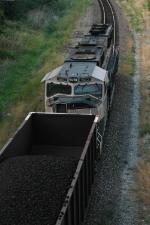 DPU on rear of BNSF 5980 South