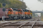 BNSF manifest turns east at Tower 26
