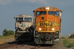 BNSF SD70MACs at Hermann