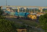 UP 7903 West in Centennial Yard