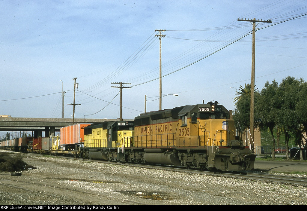 UP 3505 West at Stockton