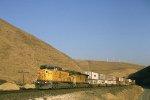 UP 9519 West descending Altamont Pass