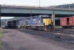 DH 7405 at Binghamton
