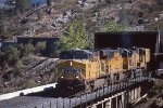 UP 5400 West at Shed 10 on Donner Pass