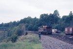 EL 3609 with caboose