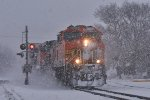 BNSF 5132 SNOW