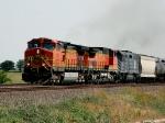 BNSF 4691, BNSF 860, & MRL 392