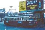 SEPTA PCC-like trolley #12 entering 69th Street Terminal