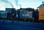 D&RGW 2-8-2 #476 switching cars
