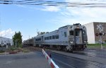 Eastbound NJT PVL Train crossing Union Ave