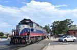 MNR GP40FH-2 on the rear of train # 78