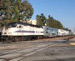 Metrolink doubleset deadhead equipment move