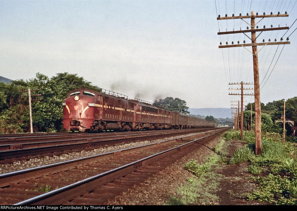PRR 5865, EP-20, 1962