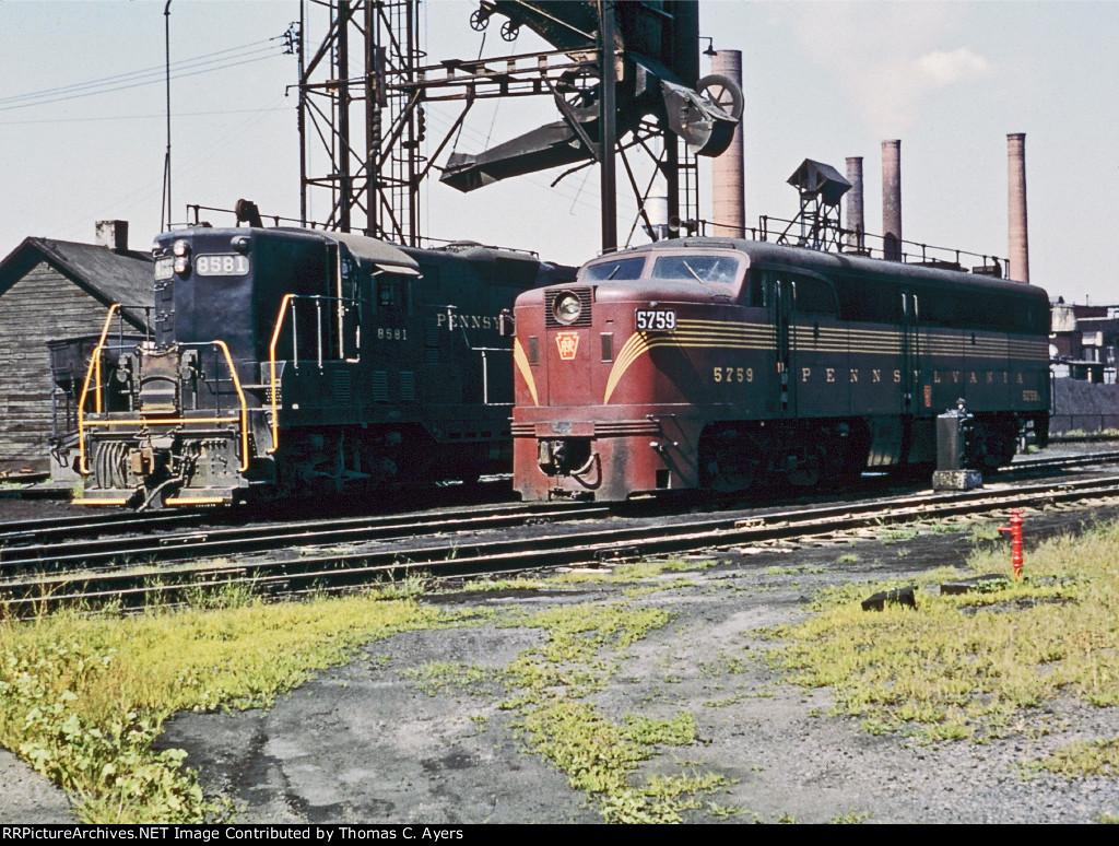 PRR 8581, ES-15, 1957