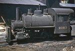 Narrow-Gauge #6093, 0-4-0, 1953