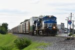 NS 4000 Drags 110 into Wentzville Mo.
