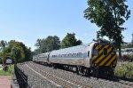 Amtrak Train # 461 leaving WND behind