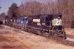 NS149 with high nose 4 axle power leading
