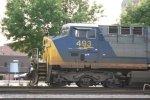 Side of CSX 493