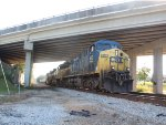 CSX Under The Bridge