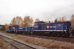 SRY 119/001/151 continue E/B through the CP New Westminster Yard