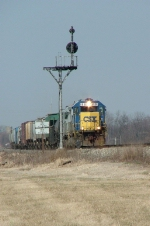 CSX 6936 and Road Slug