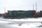 SP SD45T-2 #9275 on D&RGW