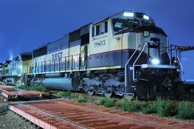 BNSF 9803