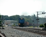 NS 8200 leads a work train