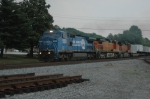 NS 8449 leads a Z train