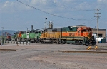 BNSF 2256 & others in the Belknap Engine Facility