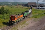 BNSF 3463 & 3632 switching LSPI