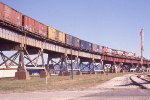 BNSF freight heading for NOPB