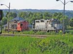 CN 1348 & TPW 2002 Abandoned in the Hamilton Yard
