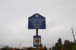 Sign  Delaware & Bound Brook RR Historic District.