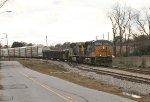 CSX 5245 and 446 head NB
