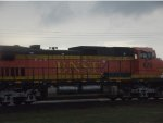 BNSF 672, one of 2 Dash 9s on the rear