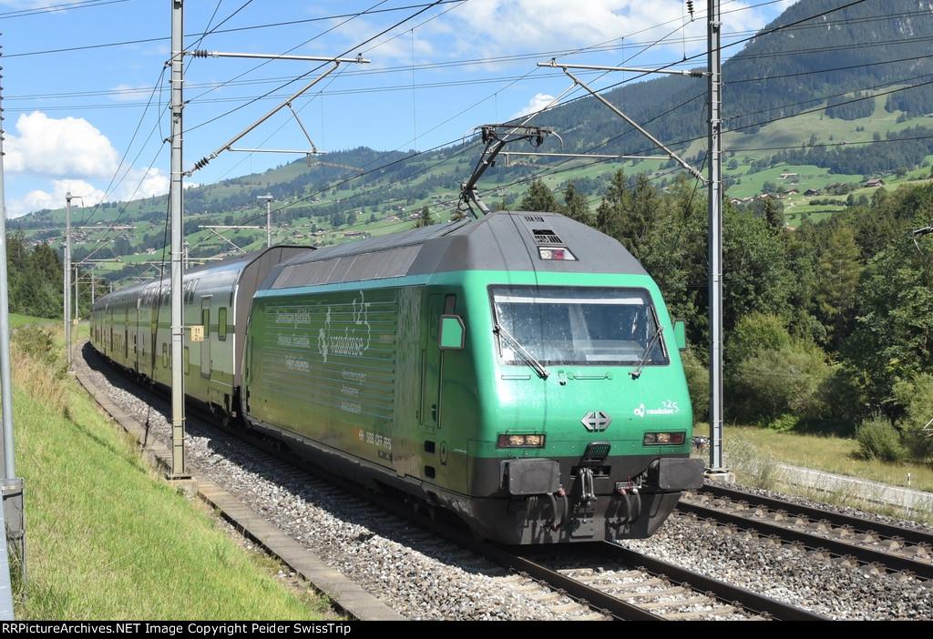 Swiss InterCity - IC8 Romanshorn - Zurich - Brig