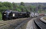 """PC """"Penn Central Passenger Train,"""" 1970"""