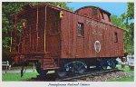 "PRR ""Pennsylvania Railroad Caboose,"" c. 1966"