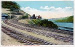 """PRR """"Kittanning Point, Looking East,"""" c. 1910"""