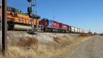 HLCX on the mixed freight...