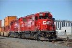 Paused intermodal transfer at Humboldt Yard