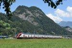 Swiss Regional Train - InterRegio Chur-St.Gallen