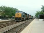CSX 4813 rolls West