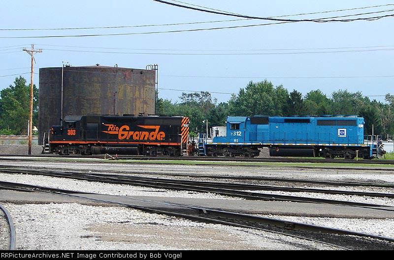 WE GP40-3 303