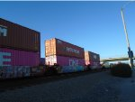 Hyundai Container #871114 and ONE Container #142560 Waits for Offloading at Dolores Yard