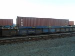 Tex Container #728319 Waits for Discharge at Dolores Yard
