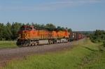 BNSF 5346 approaching Boylston