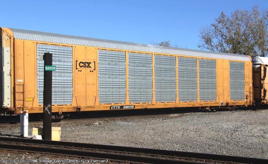 CTTX 690119 - TTX Co